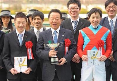 前田幸治「私の夢は、キズナ産駒に武豊乗せてダービーと凱旋門を勝つ事。叶わない夢はない。」