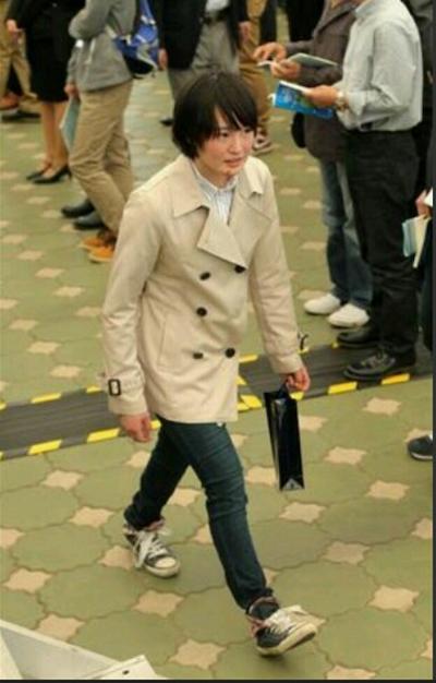 藤田菜七子騎手の私服姿