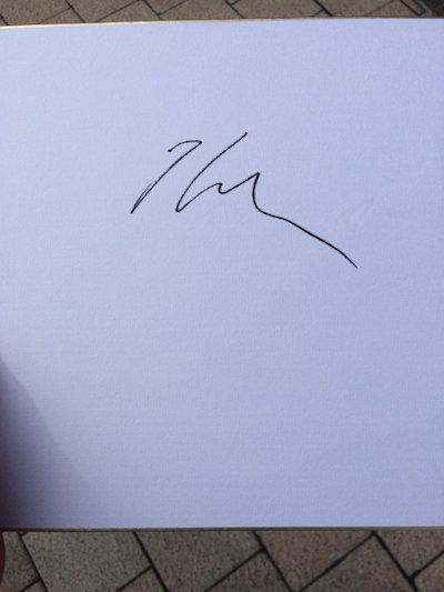 ムーアのサイン酷すぎワロタwwwww