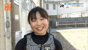 NHKに出てたマユユ