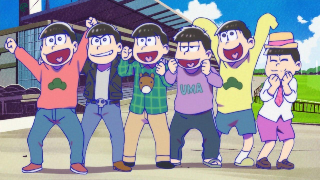 JRA、『おそ松さん』とのコラボ!アニメが12月にテレビ東京で放送!