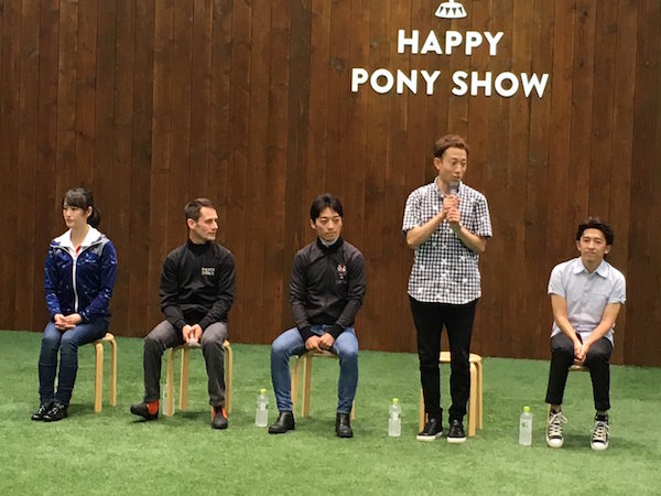 本日ノーザンホースパークのイベントに福永、川田、ミルコ、藤岡佑介、菜七子