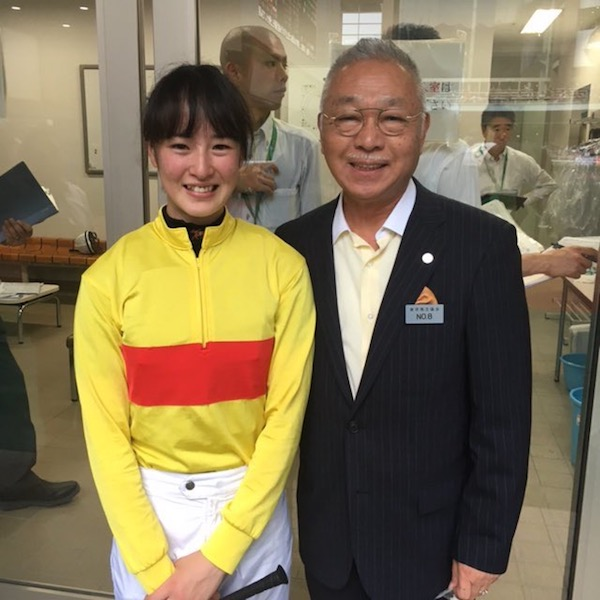 Dr.コパ「今年のJBCは超絶可愛い藤田菜七子ちゃんとコパノキッキングでチャレンジします」