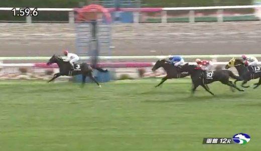 田中勝春騎手が芝で約10カ月半ぶりの勝利!マイスタイルで約5年ぶり函館での勝利!