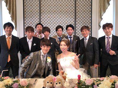 笹川翼ジョッキーが結婚式を執り行う