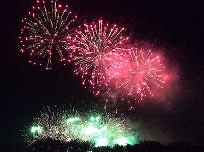 東京競馬場の花火大会