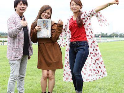 佐藤哲三さん、女の子と一緒に仕事して楽しそう