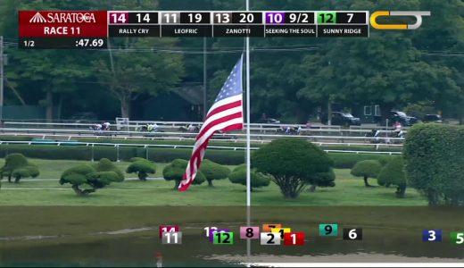 ハーツクライ産駒YoshidaがウッドワードSを勝利!日本産馬初のアメリカダートG1勝利