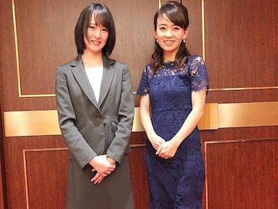 菜七子ちゃんがグリーンチャンネルのアイドル岡部玲子を公開処刑