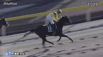 C.ルメール騎手「キッキングは誰が乗っても走る強い馬。菜七子はライバルになるね、負けないよ。」
