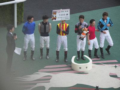 戸崎圭太騎手、JRA通算1000勝を達成 地方で2332勝を挙げており、双方で1000勝達成は4人目