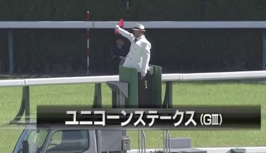 ワイドファラオ、初ダートで逃げ切り勝利【ユニコーンステークス】