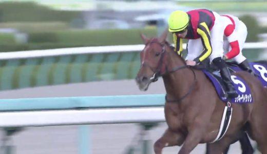 カデナ・鮫島克駿騎手「昨日今日の競馬を見て内が伸びていた。外を回さないように乗った。」