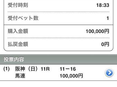 【宝塚記念】①クロノ単勝 ②クロノ-ラッキー馬連 ③クロノ→ラッキー馬単 の3つのどれか1つに給付金10万円ぶち込む