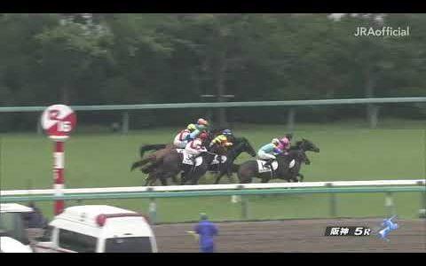 熊本産馬ヨカヨカが新馬戦でノーザン系クラブ馬に競り勝つ