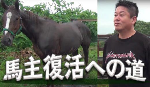 ホリエモン、再度馬主を目指すwまずは母馬探しw